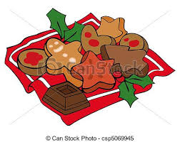 clipart vector of christmas cookies csp5069945 search