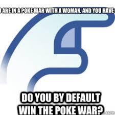 Poke Meme - poke war memes quickmeme