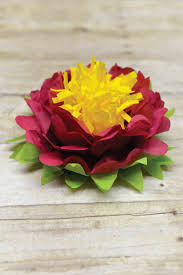 tissue paper decorations how to make tissue paper flowers four ways hey let s make stuff