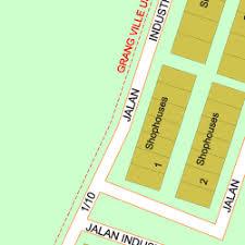 map usj 1 map of jalan industri usj 1 13