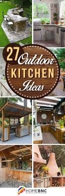 Best  Outdoor Kitchens Ideas On Pinterest Backyard Kitchen - Backyard kitchen design