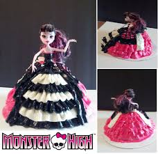 monster high halloween dolls monster high doll cake my cakes pinterest monster high dolls