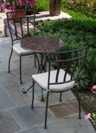 Bistro Patio Table Granite Patio Furniture Sets Foter