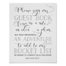guest book sign in sign our guestbook posters zazzle