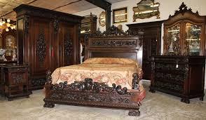Antique Oak Bedroom Furniture Old Fashioned Bedroom Sets Home Design