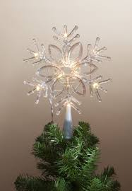 lighted tree topper lighted snowflake tree topper at hooked on hallmark ornaments