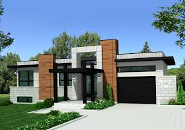 canadian house floor plans plan 90275pd modern home plan with striking exterior exterior