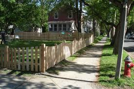 middlebury fence spaced board fencing picket fencing