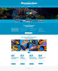 fish responsive website template 48627