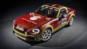 2017 fiat 124 spider abarth 2017 fiat 124 spider abarth rally edition wallpaper hd car