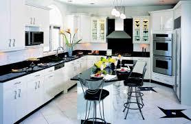 European Kitchen Faucets Kitchen Style Contemporary European Kitchen In Black White Theme