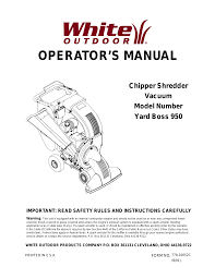 100 owners manual for craftsman lawn vaccuum craftsman csv