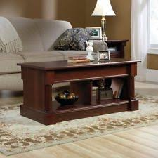 Coffee Table Lift Top Sauder 420520 Palladia Lift Top Coffee Table In Cherry Ebay