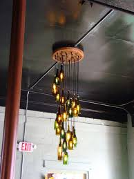 Chandelier Ideas Best 25 Wine Bottle Chandelier Ideas On Pinterest Make A