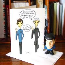 spock birthday card live long and prosper star trek