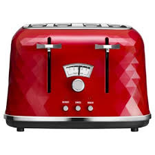 Red Toasters For Sale Toasters Small Kitchen Appliances Tesco