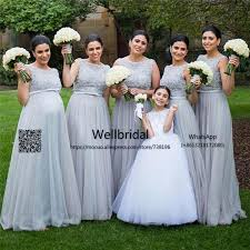 silver plus size bridesmaid dresses popular 2017 plus size bridesmaid dresses with 3d appliques