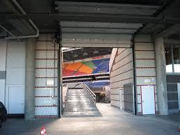 Industrial Overhead Door by Afc Ajax Amsterdam Arena Fire Retardant Doors Protec
