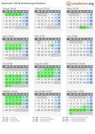 Kalender 2018 Hamburg Feiertage Kalender 2018 Ferien Schleswig Holstein Feiertage