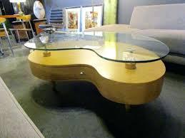 ikea glass top coffee table with drawers kidney shaped glass top coffee table modern kidney shaped coffee