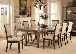 Rustic Oak Dining Tables Furniture Of America Cm3562t Rustic Oak Dining Table With 8 Chairs