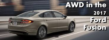 awd ford fusion ford fusion with all wheel drive in fond du lac