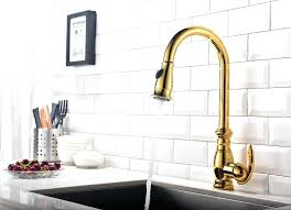 polished brass kitchen faucet brass faucet kitchen prospect heights modern kitchen antique brass