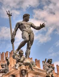 Statues Of Gods by The Antique Statue Of Neptune The God Of Water And The Sea In