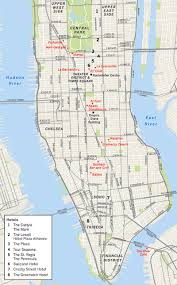 New York City Street Map by New York City Travel Guide What To See Eat And Do Where To