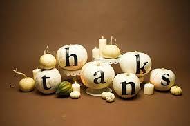 Thanksgiving Pumpkin Decorations 20 Stylish Diy Thanksgiving Crafts