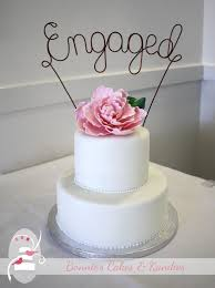 Engagement Cakes The Best Is Yet To Come Twin Waters Golf Club Engagement Cake