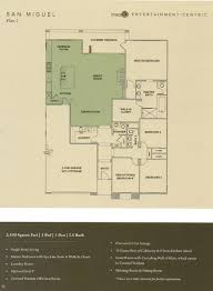 floor plan 2 at 1 channel island new homes in encinitas new home