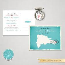 destination wedding invitation dominican republic punta cana