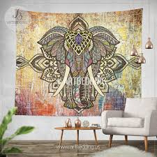 Wall Tapestry Hippie Bedroom Elepahnt Tapestry Bohemian Wall Tapestry Hippie Tapestry Wall