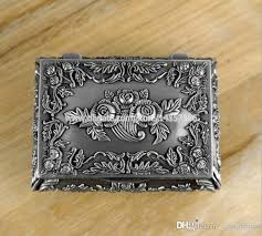 Jewelry Box Favors 2017 European Princess Metal Jewelry Box Small Zinc Alloy Embossed