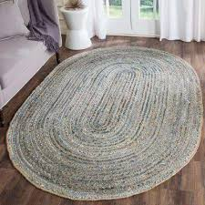 Oval Area Rugs Oval 4 X 6 Blue Area Rugs Rugs The Home Depot