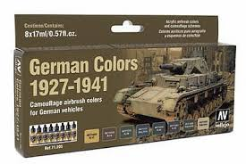17ml bottle german vehicle camouflage colors 8 colors hobby and