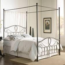 camaflexi full canopy bed with panel headboard walmart com
