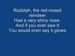rudolph red nose reindeer lyrics