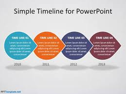 Timeline Ppt Template Free Power Point