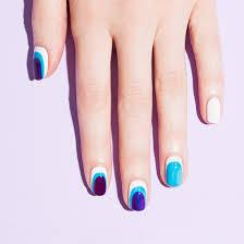 vivid sheer nail art