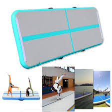 Gymnastics Floor Mat Dimensions by Ipree Gym Air Track Floor Pad Home Gymnastics Tumbling Inflatable