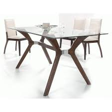 Glass And Wood Dining Tables Rectangle Glass Top Dining Table Sets Best Gallery Of Tables