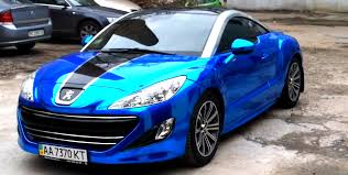 peugeot rcz car picker blue peugeot rcz