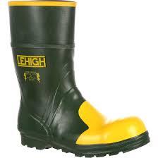 lehigh steel toe rubber hydroshock dielectric waterproof work