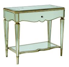 silver mirrored nightstand u2014 interior home design how to make a