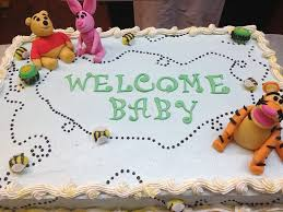 winnie the pooh baby shower cake decadent designs by jean cake gallery