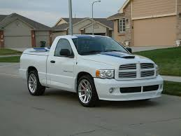 wtb 2004 ram srt 10 gts blue white stripe vca edition