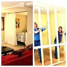 Diy Sliding Door Room Divider Sliding Wall Dividers 72poplarcom Sliding Door Dividers Build Room