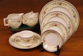 found in ithaca johnson bros china pareek shalford pattern made